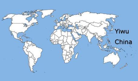 yiwu map